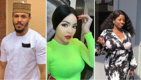 Former Big Brother Naija housemate, Nengi Hampson,Dorathy, Dorathy Bachor, Ebuka Obi Uchendu
