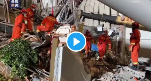 Popular Hotel Building Collapses Killing Many