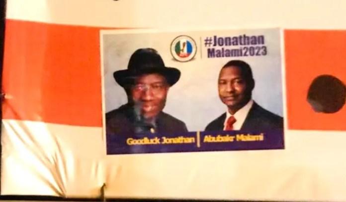 Jonathan-Malami APC Presidential Poster