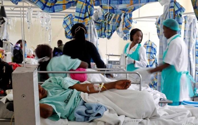 Cholera death toll