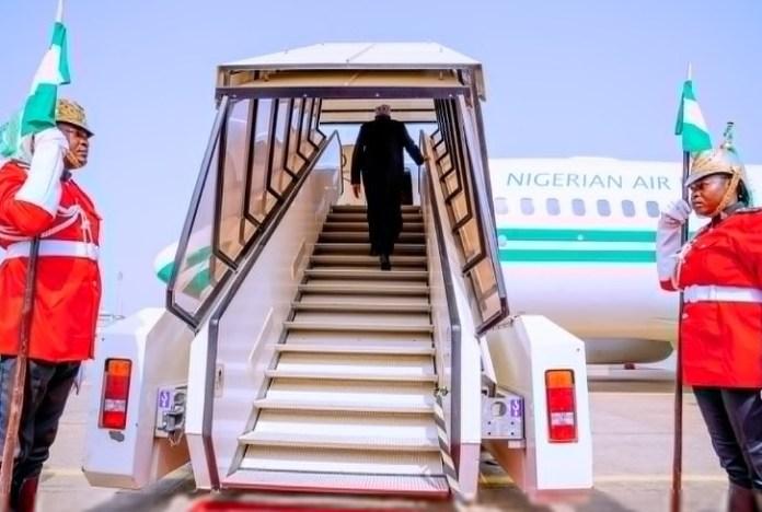 President Buhari Departs Nigeria For UK