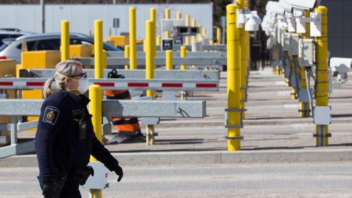 Mexico Canada Land Borders