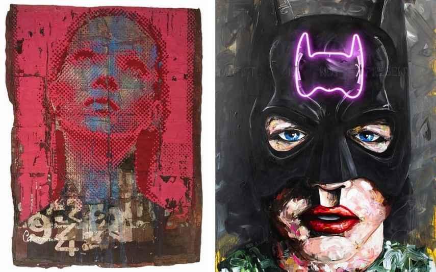 Patrizia Casagranda - Belief, Peintre X - Batman