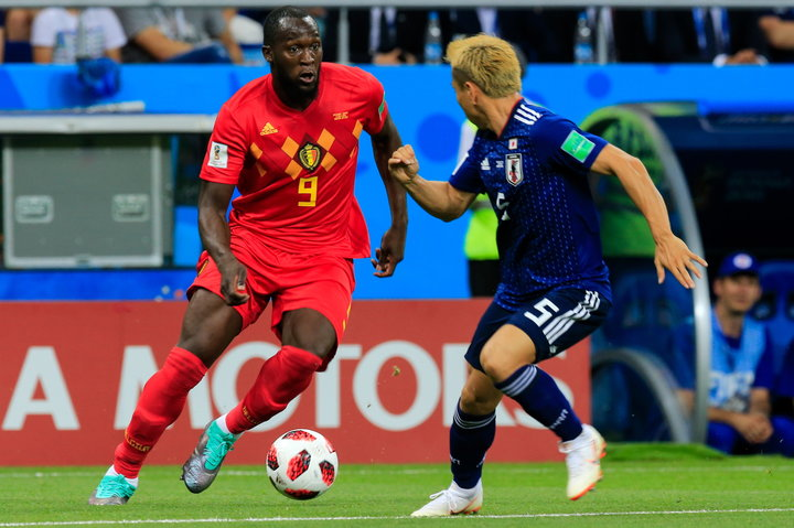Lukaku hasn't yet scored in this World Cup's knockout stage, but he's changed both of Belgium's matches anyway.