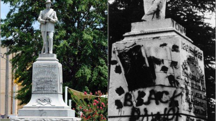 Confederate monument thegrio.com