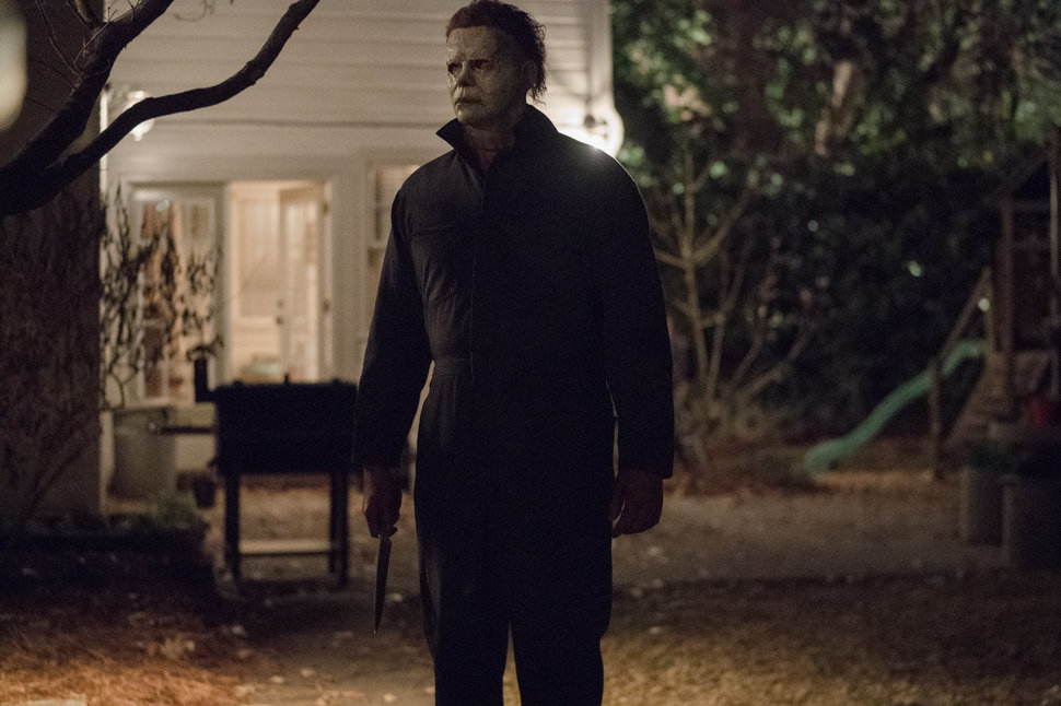 "Michael Myers in the new ""Halloween."""