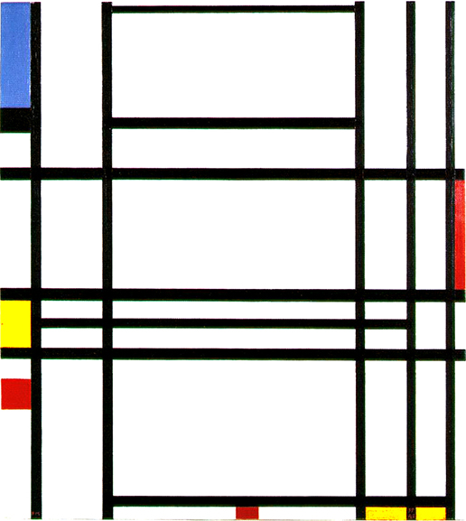 Piet Mondrian - Composition No. 10. 1939-42