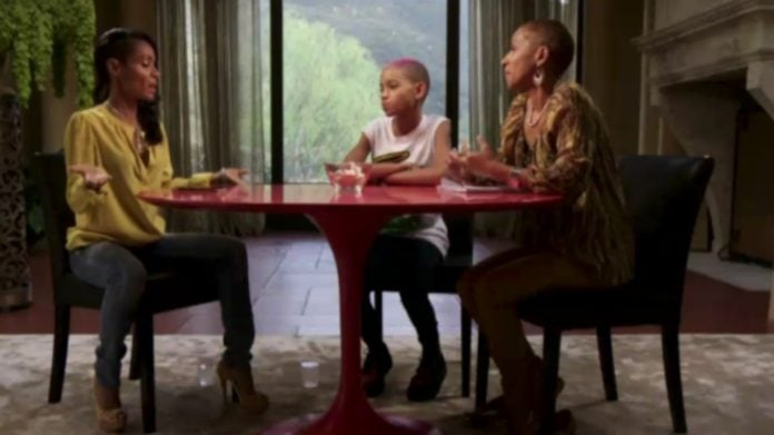 Jada Pinkett Smith Red Table Talk thegrio.com