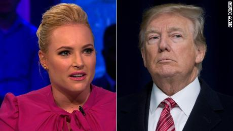 Trump attacks McCain over dossier, Meghan McCain swipes back