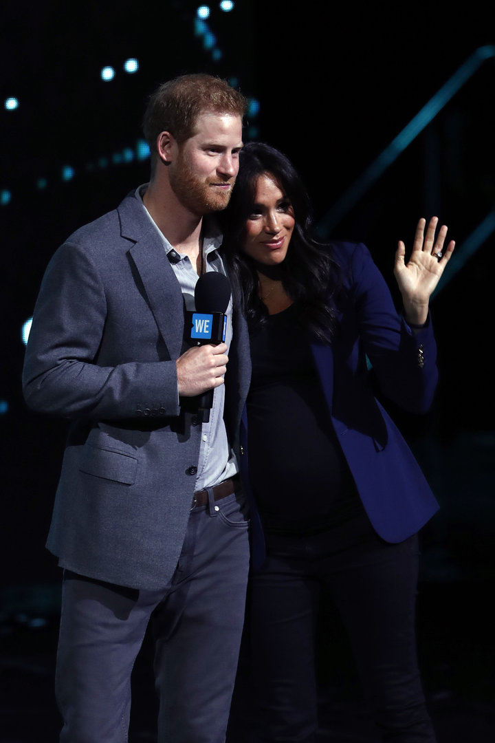 Prince Harry and Meghan, Duchess of Sussex, wantthe impending birth of their first child to be a private matter, Buckin