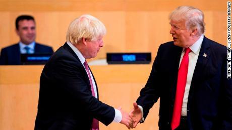 Boris Johnson stakes future on Donald Trump after Brexit. The gamble may break Britain