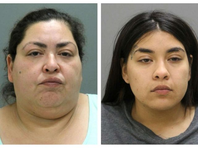 PHOTO: This combination of booking photos provided by the Chicago Police Department on May 16, 2019, shows from left, Clarisa Figueroa, 46; and Desiree Figueroa, 24.