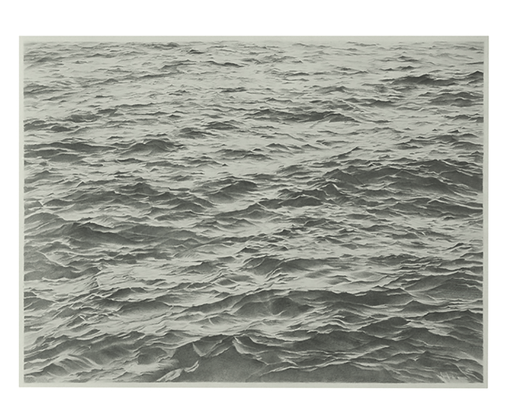 Vija Celmins, 'Untitled (Big Sea #2),' 1969.