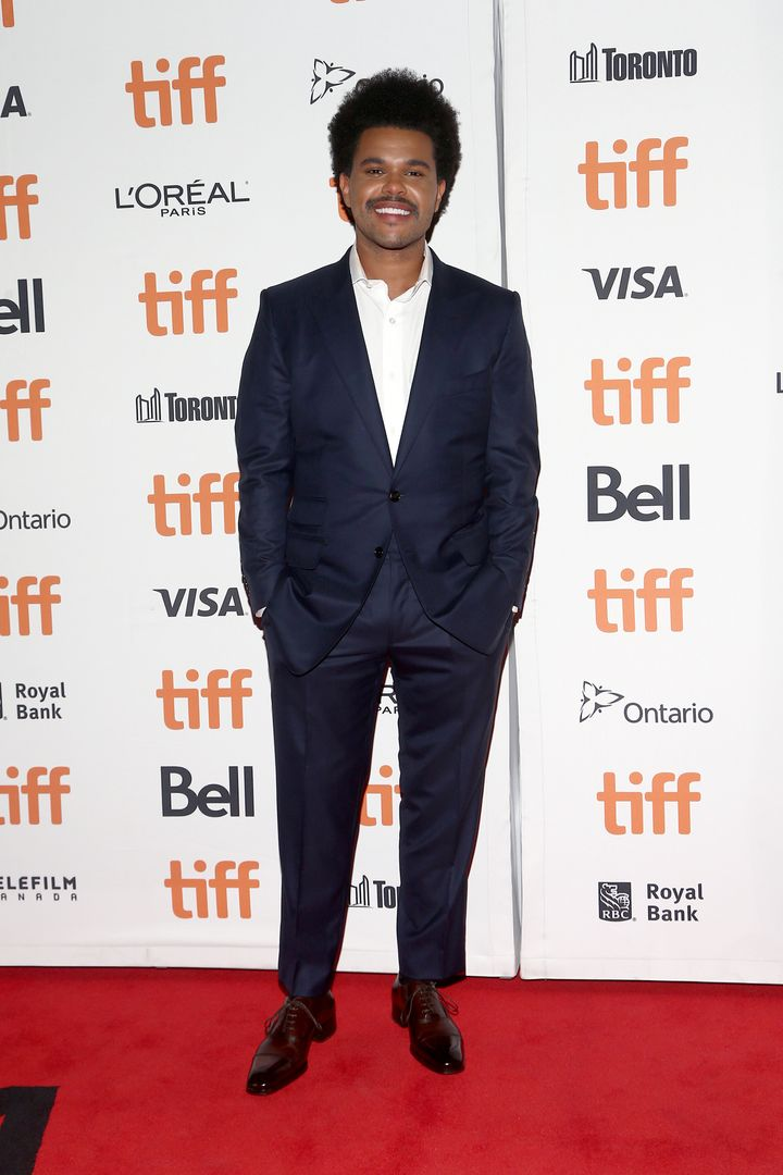 """The Weeknd attends the """"Uncut Gems"""" premiere during the 2019 Toronto International Film Festival on Sept. 9 in Toronto."""