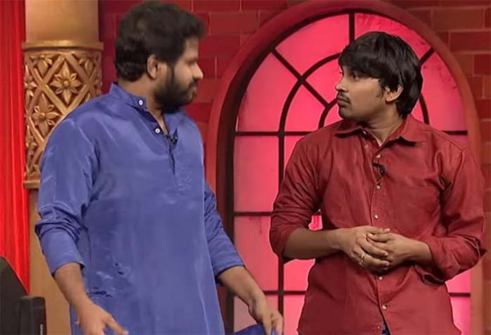 hyper aadi punches in jabardasth show