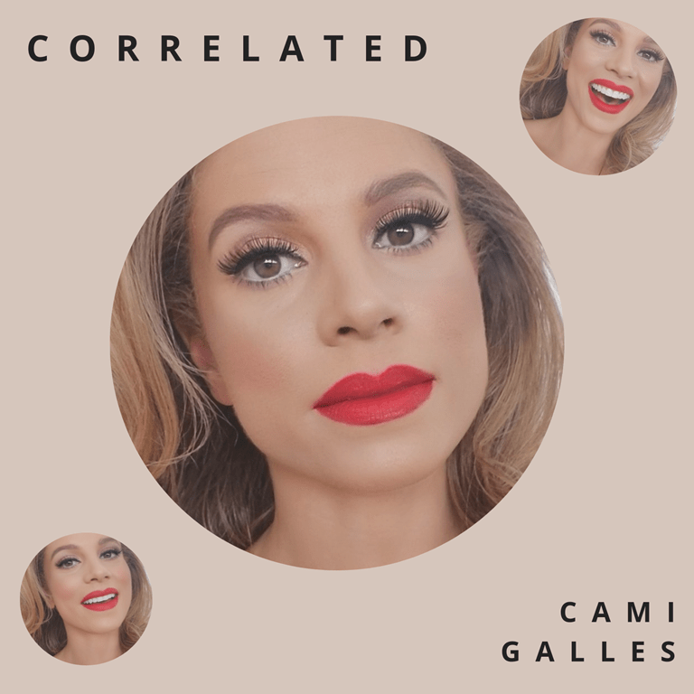 "'Cami Galles' says ""This album tells an evolutionary story about my past relationships, and how I learned to prioritize my relationship with myself"" as she unleashes her long awaited album 'Correlated'"