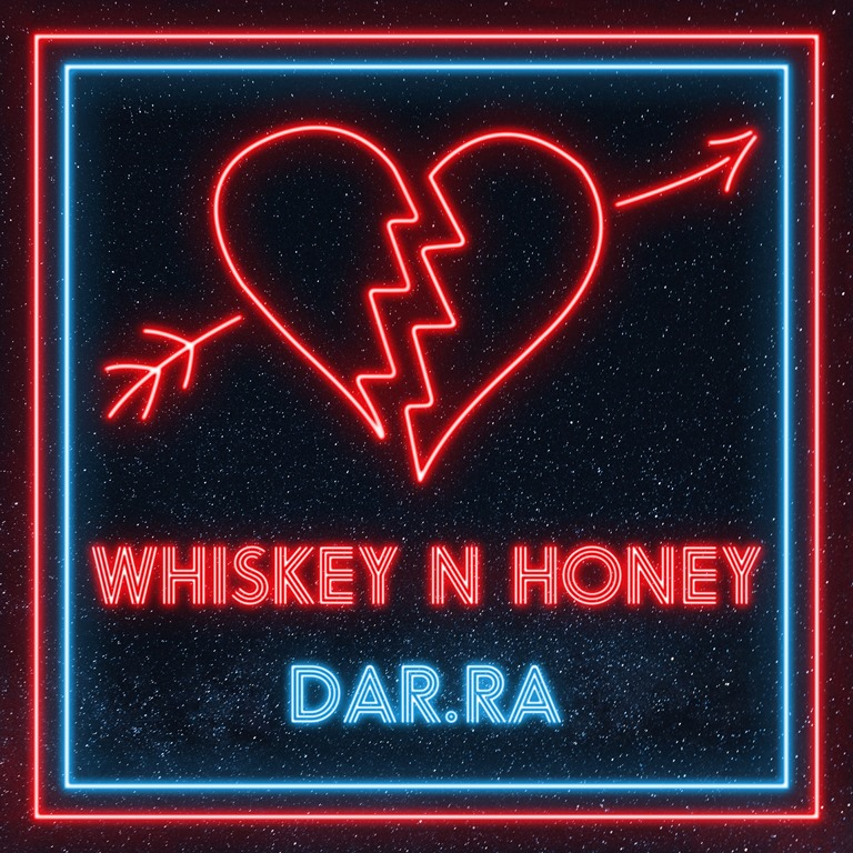 Cover Star Irish Rock star 'Dar.Ra' drops the official lyric video for his sensational alternative rock odyssey 'Whiskey n Honey'