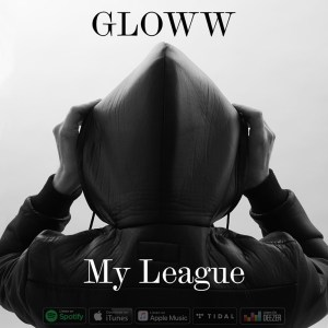 'GLOWW' releases a whispery new atmospheric single 'My League' with it's grand, spacey, electronic ambient vibe