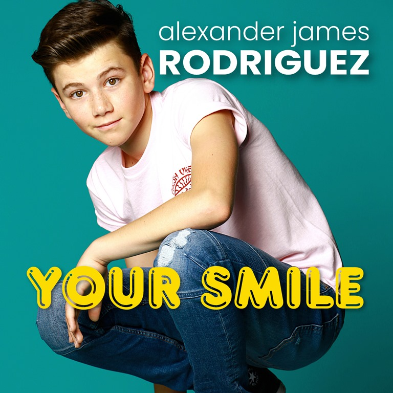 A girls quarantine smile has changed everything for young British Pop star 'Alexander James (AJ) Rodriguez' as he pens a classic sounding Southern California summer vibe single 'Your Smile'
