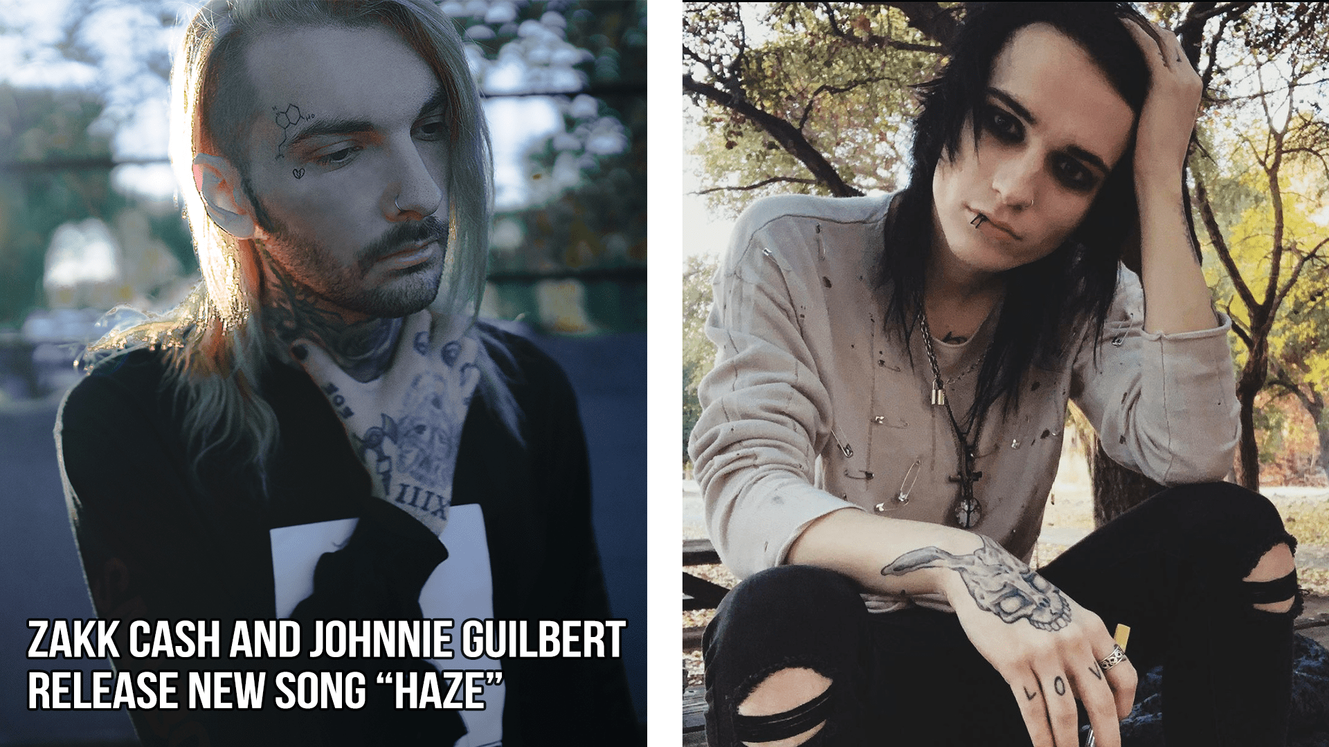 Zakk Cash opens up about a low point in his life with new single 'Haze' which features Johnnie Guilbert
