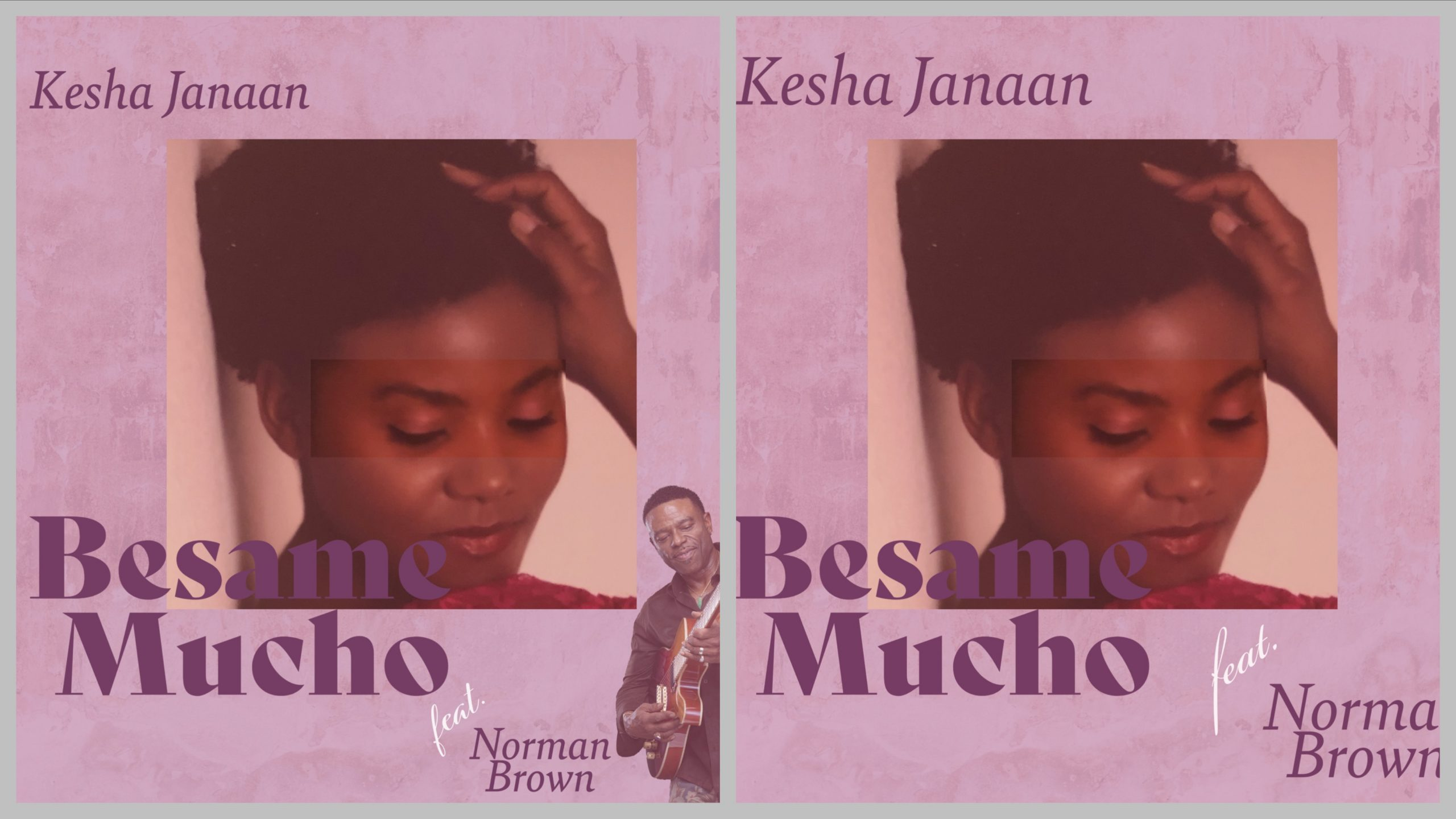 Kesha Janaan adds her own style and flavour to the latin, jazz classic 'Besame Mucho'