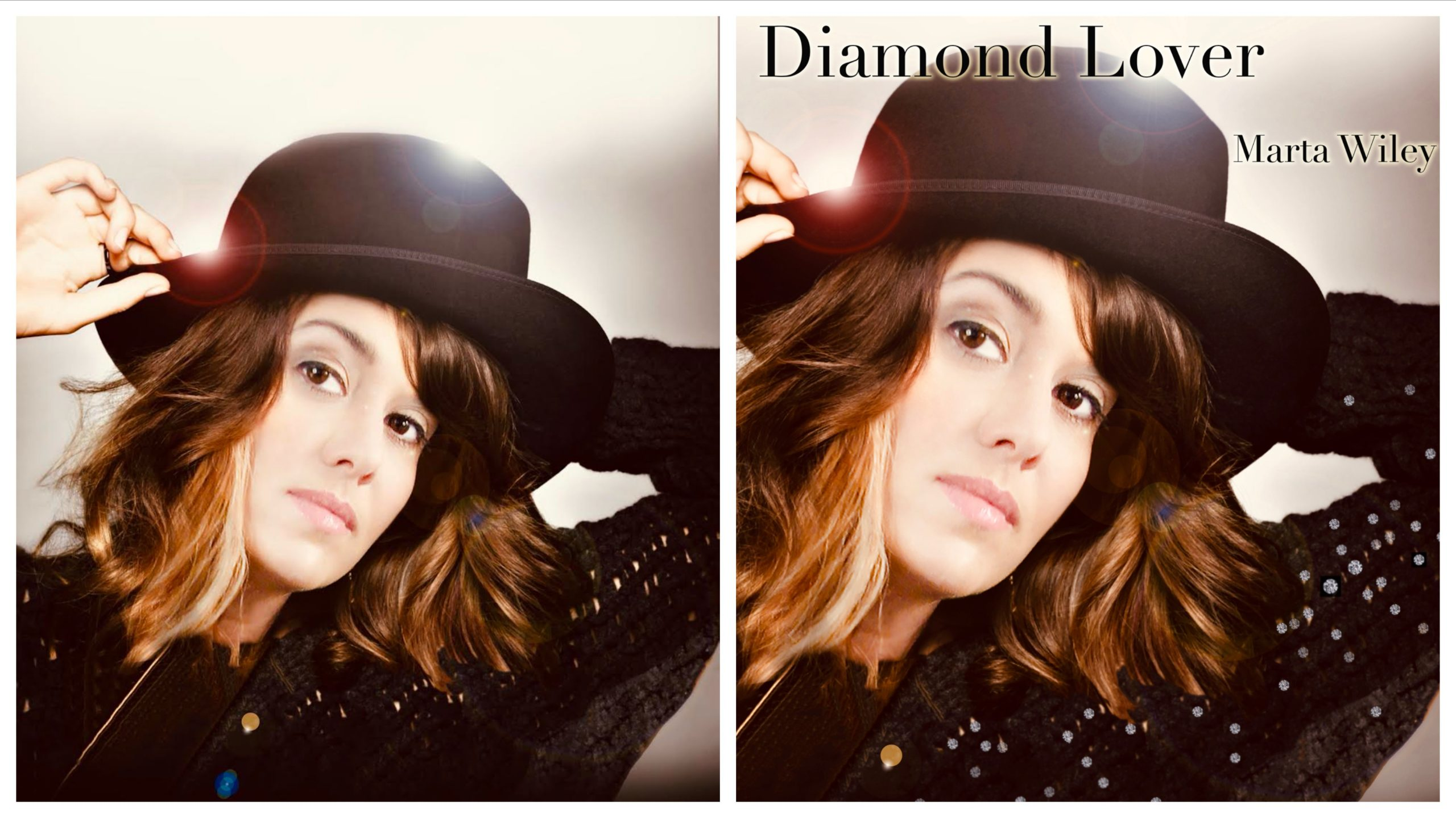 ARTIST MARTA WILEY HAS RELEASED A NEW SINGLE CALLED 'DIAMOND LOVER' WHICH HAS A JAMES BOND 007 FEEL TO IT