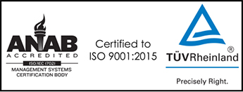 certification RMA TUV ANAB
