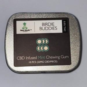 cbd gum front label