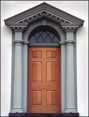 classical American door