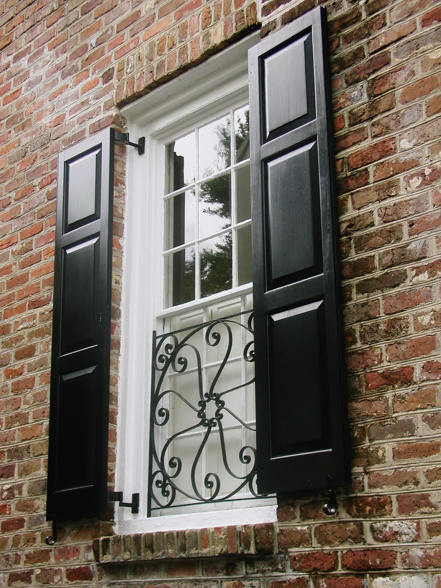 """Classic Charleston double hung with """"9 over 9 divided lights"""