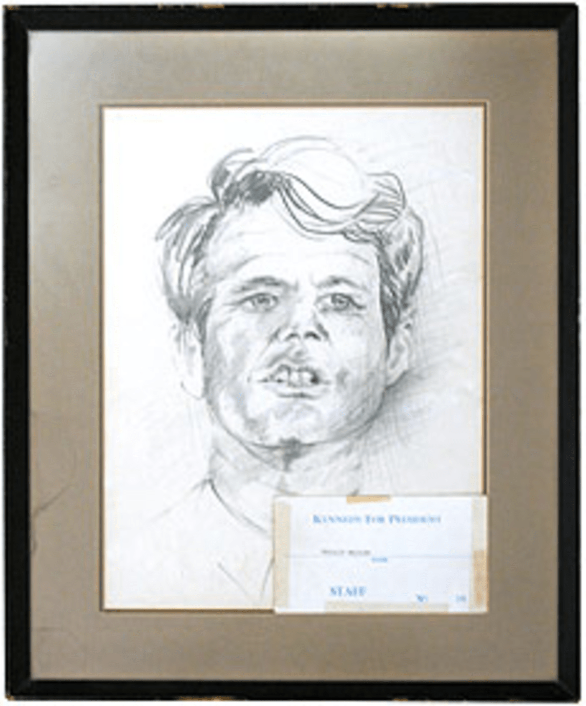 Phillip Bailley has had this RFK portrait for nearly 40 years. Now he wants to own it.