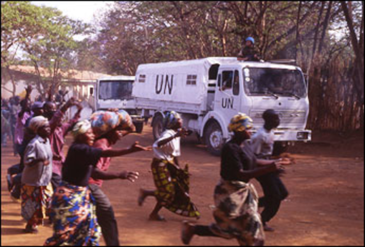 The Powers That Flee: Beyond the Gates indicts the U.N.?s toothlessness in Rwanda.