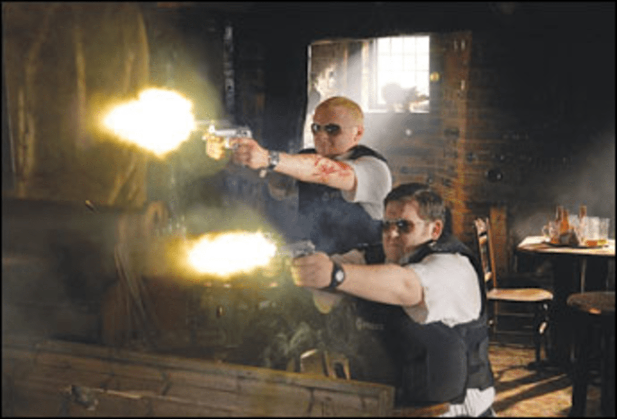 Shtick to Your Guns: Hot Fuzz?s jokes blast hapless cops.