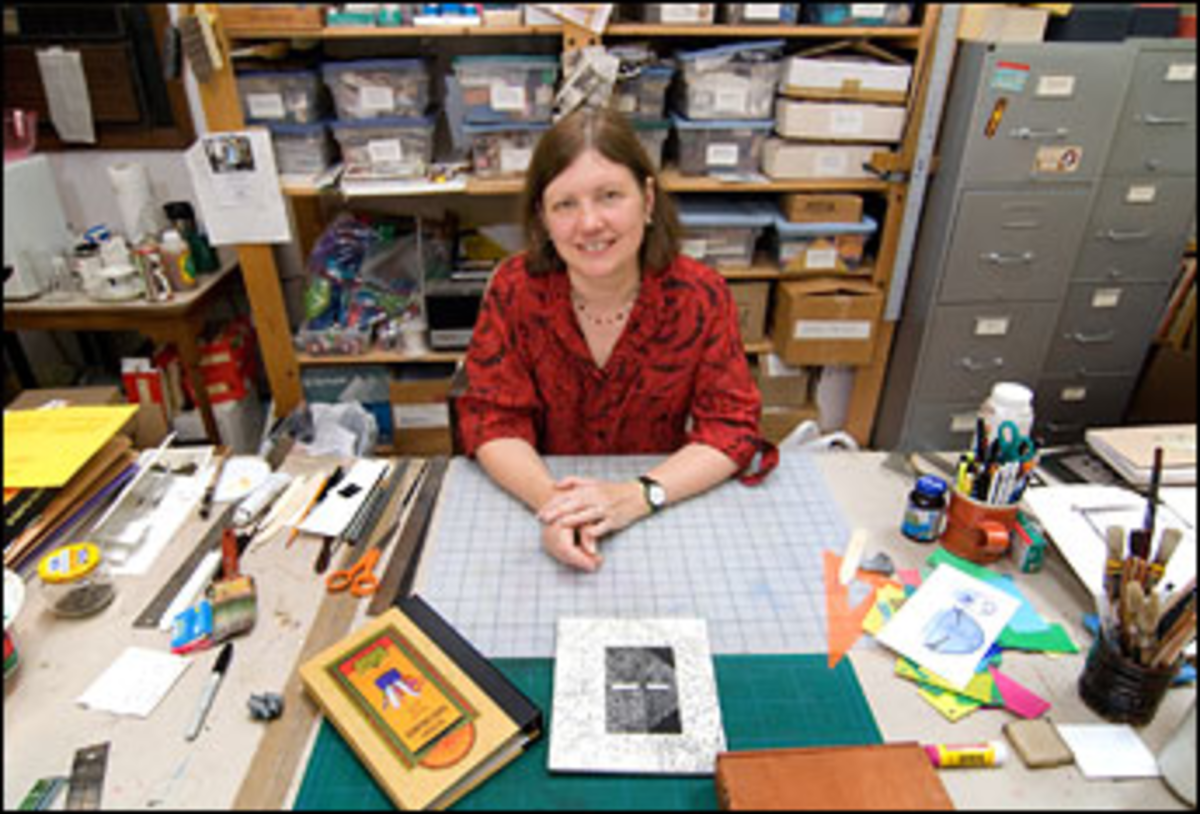 Paper Work: Barton has taught the art of paper engineering for more than 20 years.