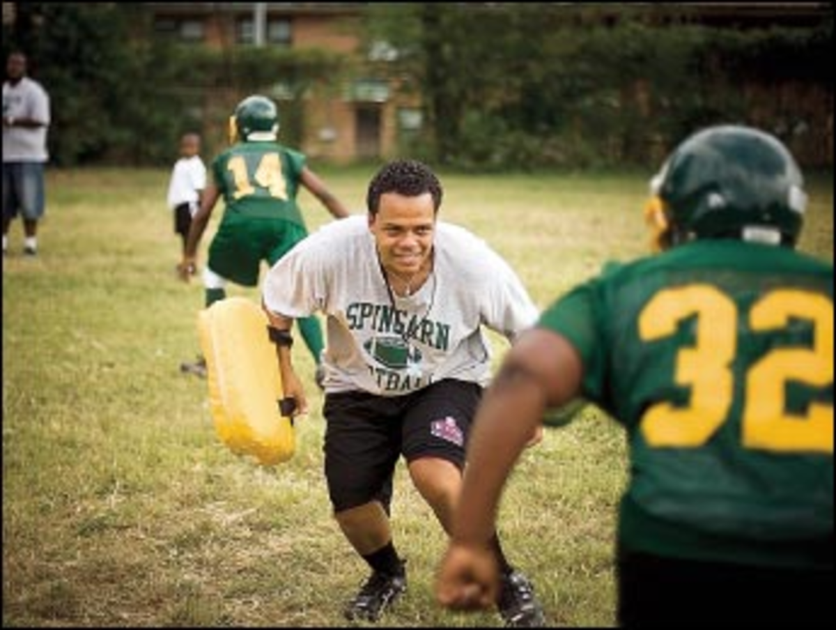 Roster Care: Adon?s had to nurse the Spingarn gridiron lineup to full strength.