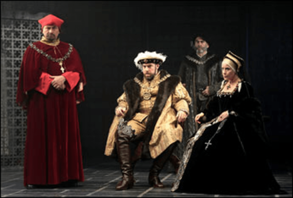Tudor Alert: A lean script, a lavish production, and directoral innovation rescue the second-best Shakespeare play.