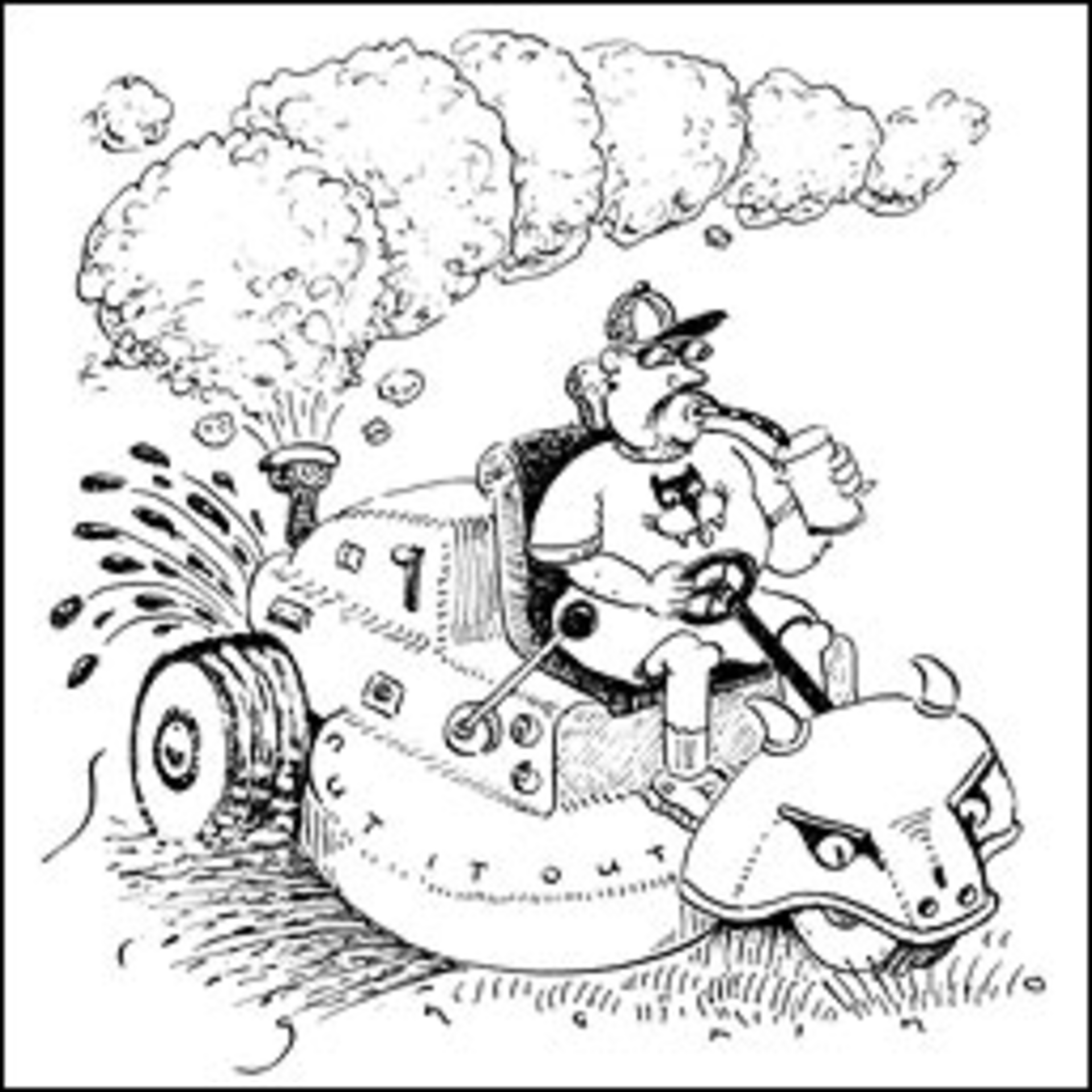 How Much Pollution Do Gasoline-Powered Lawn Mowers Cause? - Washington City  Paper