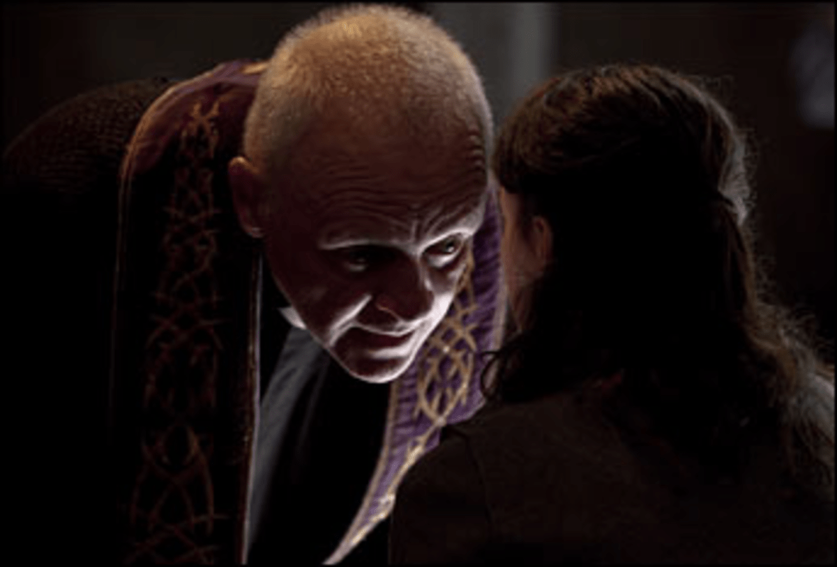 Lecter Circuit: As a possessed exorcist, Hopkins draws on his classic cannibal.
