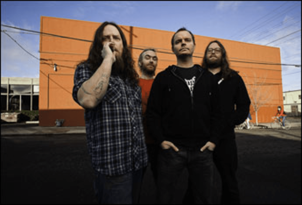 Beer and Back Again: On its second album, inebriated metal act Red Fang is taking itself more seriously.