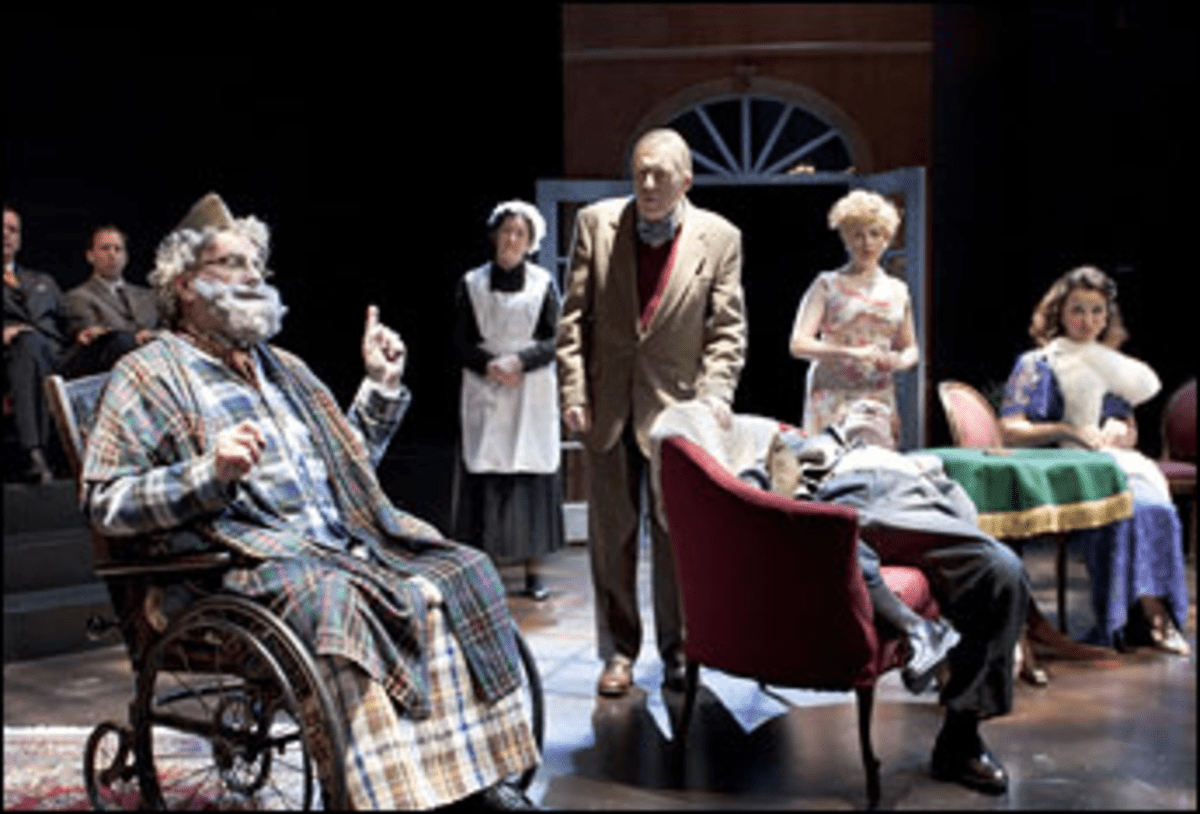 All the Stages a Stage: Critics direct a second-rate whodunit in Inspector Hound. s a Stage: Critics direct a second-rate whodunit in Inspector Hound.