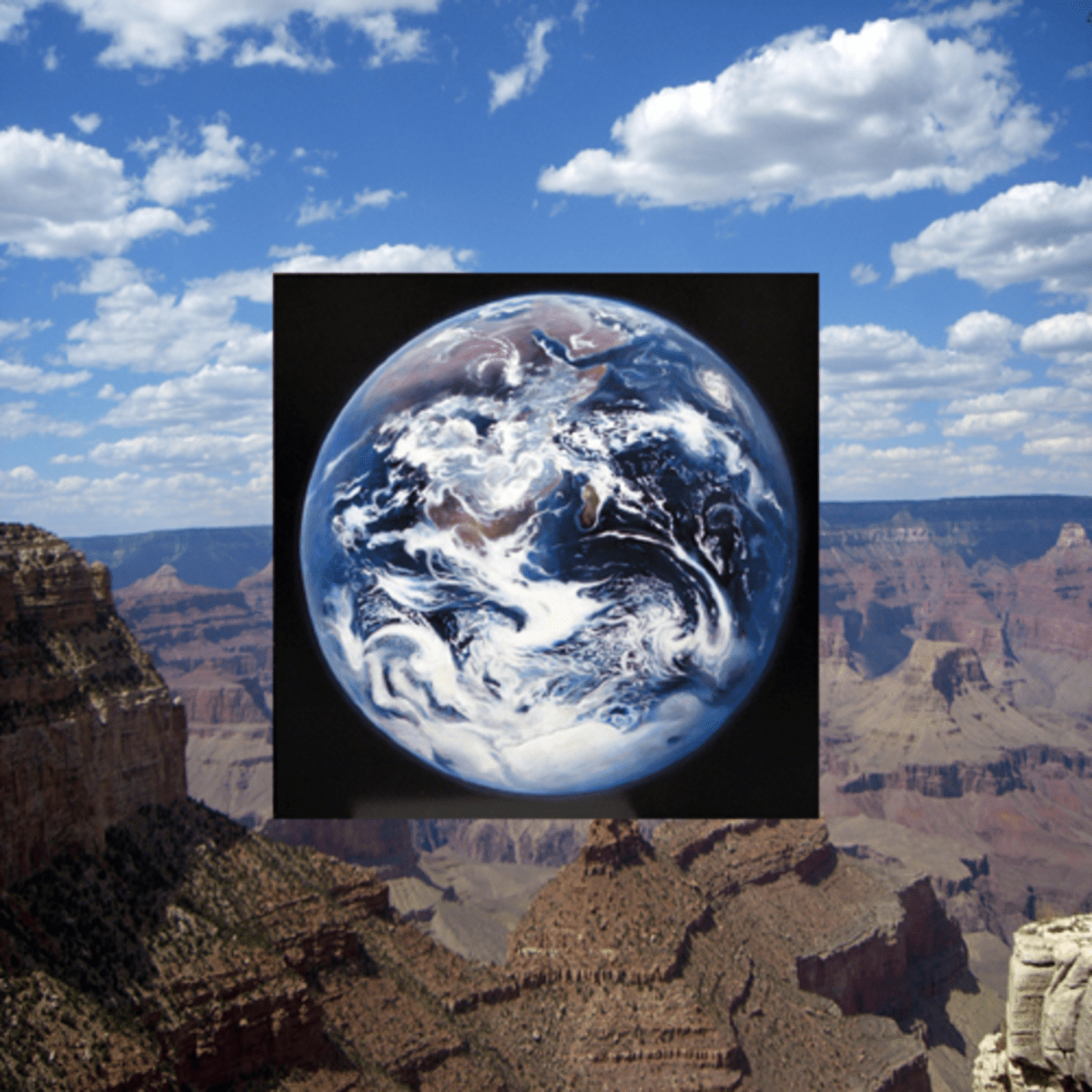 """""""Earth on Grand Canyon"""" by William Newman (2013)"""