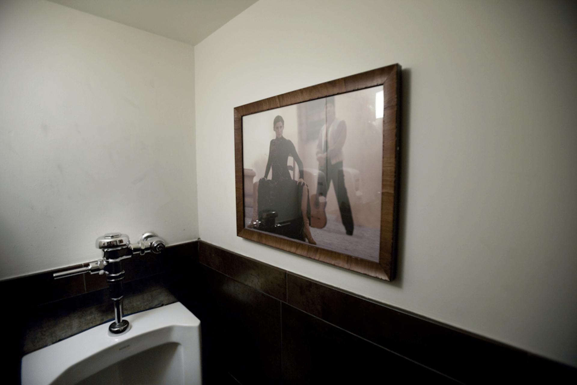 Mens Room, Bodegas Room, Bodega