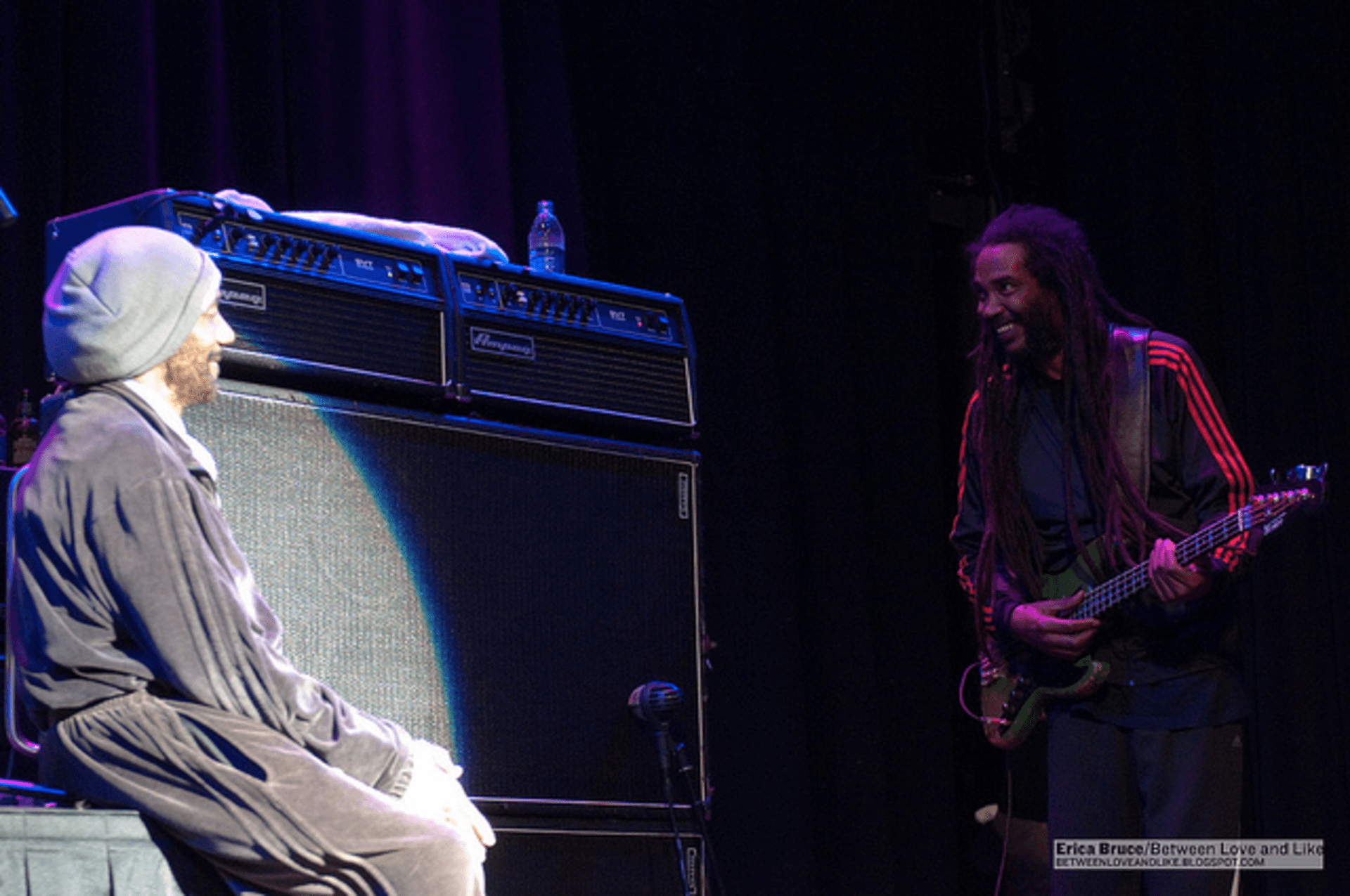 H.R and Darryl Jenifer of the Bad Brains