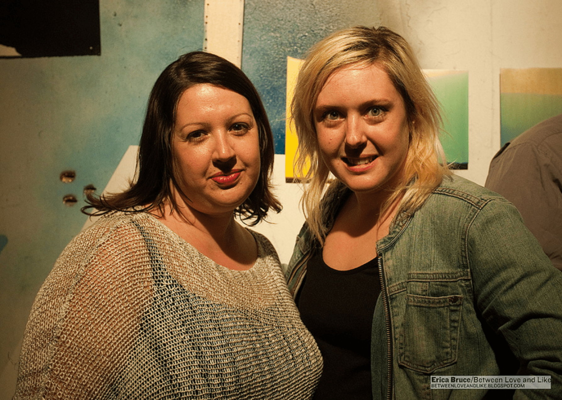 Event organizers: Transformer Gallery Director Victoria Reis and Black Whiskey promoter Sasha Lord