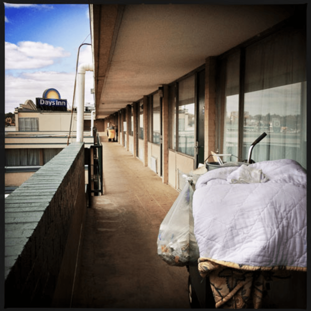 There are 251 homeless families being sheltered at the New York Avenue NE Days Inn and another motel.
