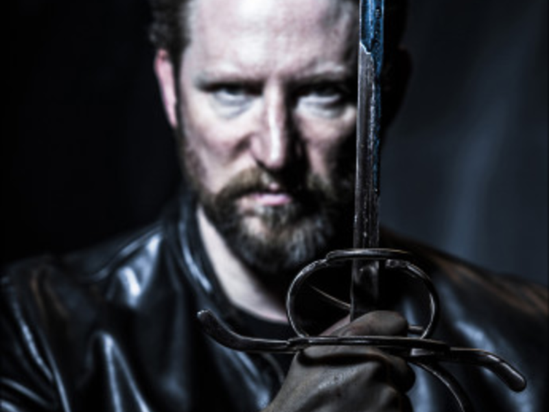 A lean and hungry Hamlet still gets tangled up in blue. (Pictured: Dan Crane as Leartes)