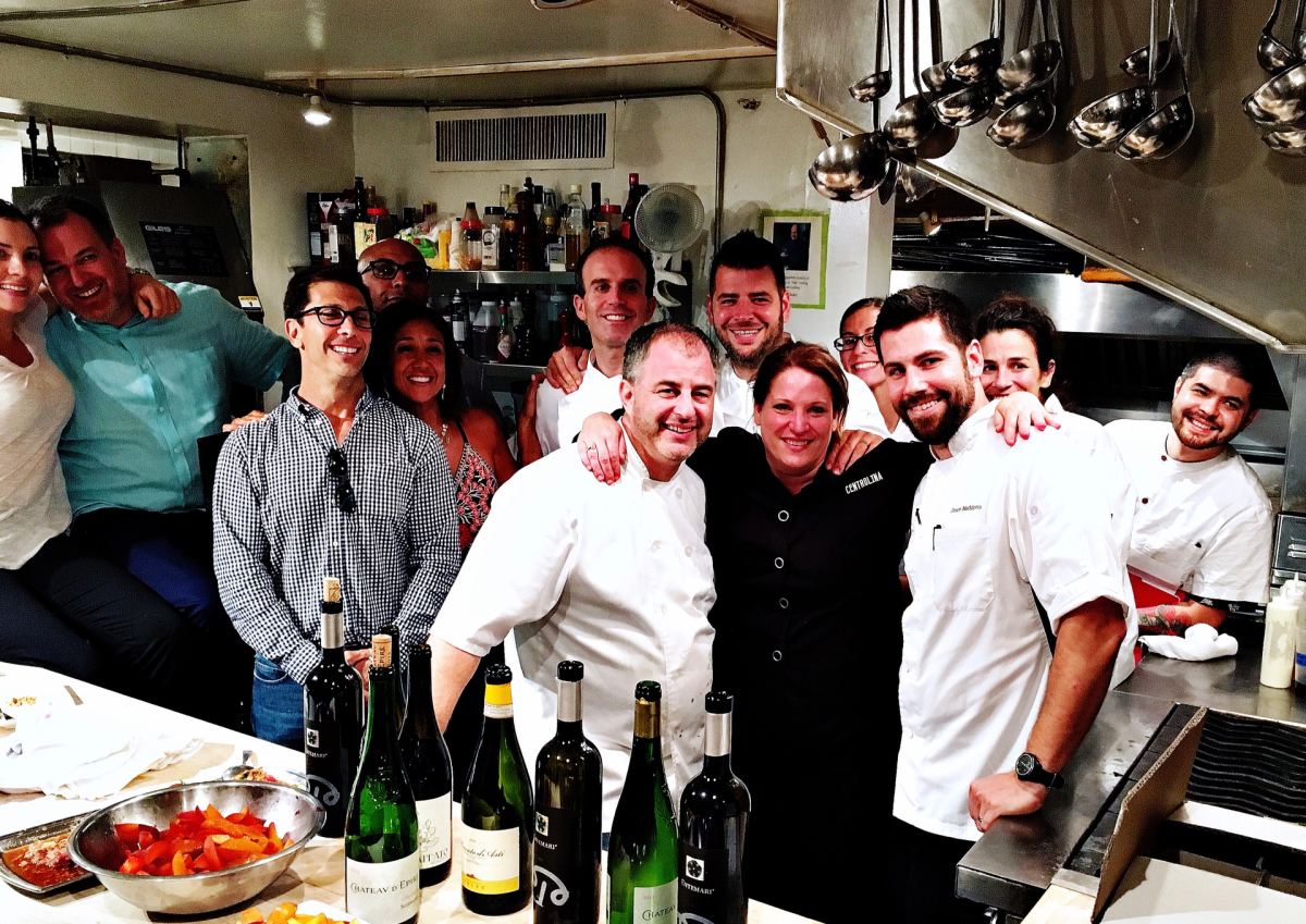D.C. chefs at New Yorks James Beard House photo by Nevin Martell.s James Beard House photo by Nevin Martell.