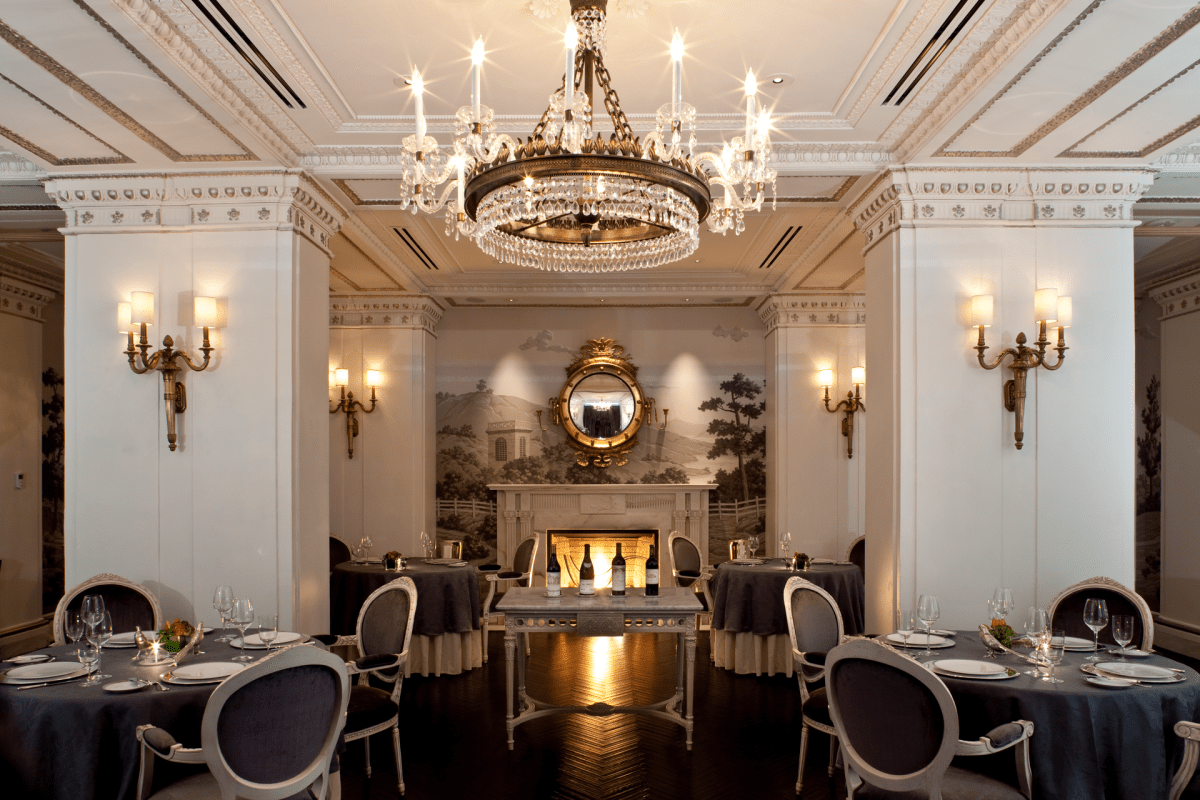 The dining room at Plume