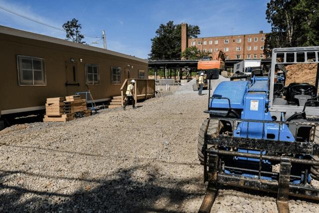 Ward 8 shelter site