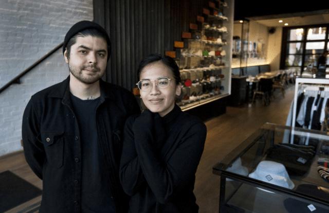 Photo of Erik Bruner-Yang and Seda Nak by Darrow Montgomery